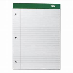 tops double docket writing pad letter 850quot x 11 With letter writing pad