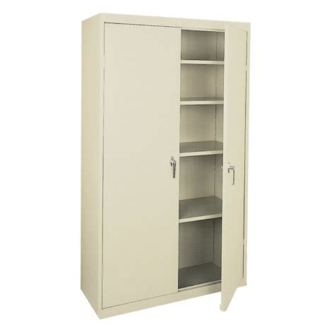 metal kitchen storage cabinets steel storage cabinets heavy duty welded sandusky metal 7466