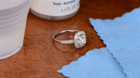 easy simple how to clean your engagement ring