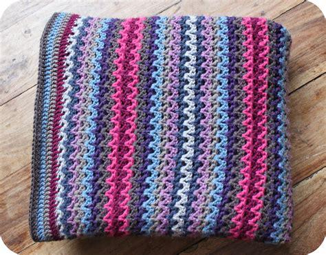 how to crochet av stitch crochet blanket tea crochet and me