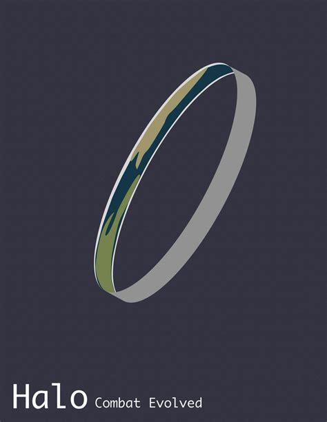 Minimalist Halo Cover By Niktollison On Deviantart