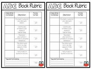 Booklet Template For Word Intermediate Abc Book Project Template By Tighe Tpt