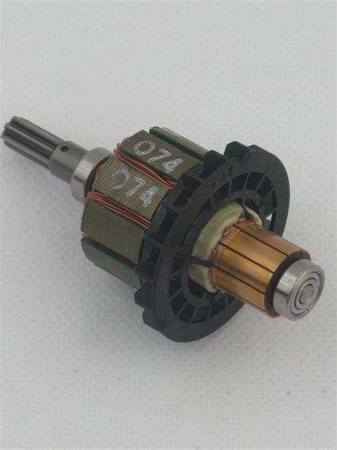 ersatzmotor bosch akkuschrauber makita 619375 2 anker rotor motor 18 volt f 252 r btw251 dtw251