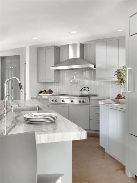 modern kitchen in dovetail gray