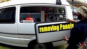 Window Panel Removal Tutorial   Mazda E2000 Van