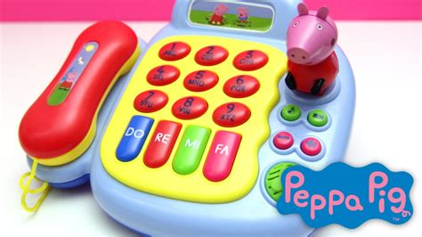 peppa pig phone peppa pig baby musical phone activity piano figure with