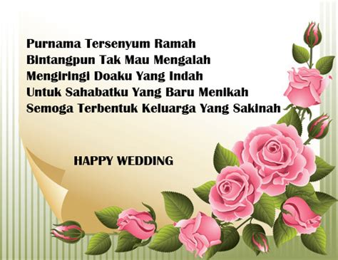 trend terbaru ucapan pernikahan  teman writing momof