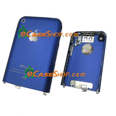 original metal iphone 2g 8gb back cover housing us iphone 2g 8gb replacement with metal bezel blue