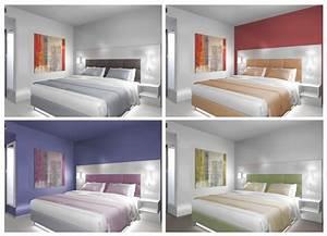 Wände Gestalten Farbe : r ume gestalten mit farbe ~ Sanjose-hotels-ca.com Haus und Dekorationen