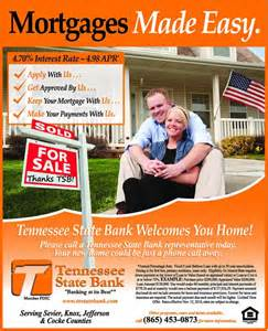 Bank for Mortgage Loan Advertisement