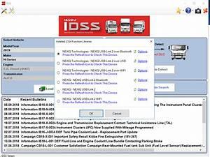 Isuzu Idss New Diagnostic Service System