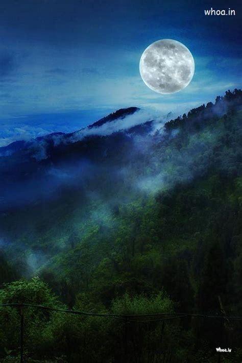 moon  everest natural hd wallpaper
