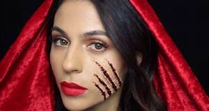 How To Couple Halloween Makeup Little Red Riding Hood