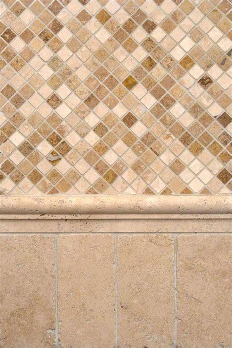 chiaro and noce travertine backsplash tile msi