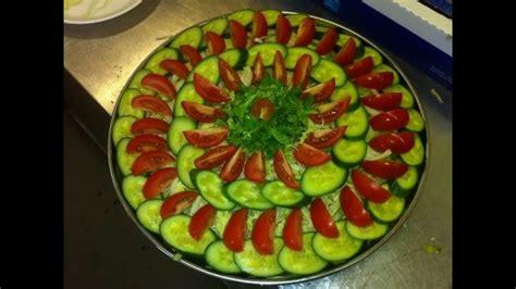 cucumber salad decoration salad decoration