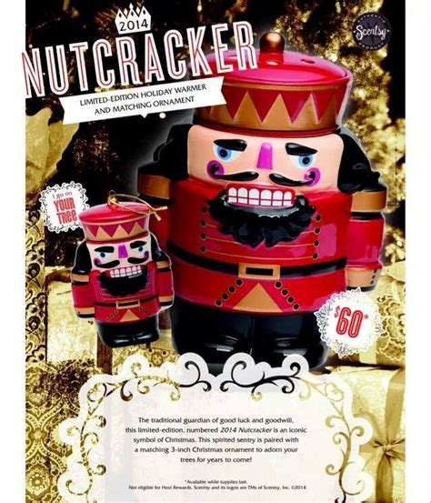 nutcracker scentsy warmer collectible ornament
