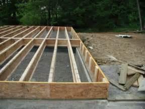 Wood Floor Joist Construction