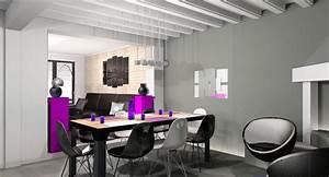 decoration salon salle a manger appartement exemples d With deco salon salle a manger