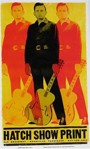 Johnny Cash Poster : hatch show print a working letterpress museum general knot co ~ Buech-reservation.com Haus und Dekorationen