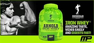 Muscle Pharm Arnold Iron Whey Review