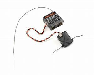 Spektrum Rc Ar7700 8 Dsmx Serial Receiver