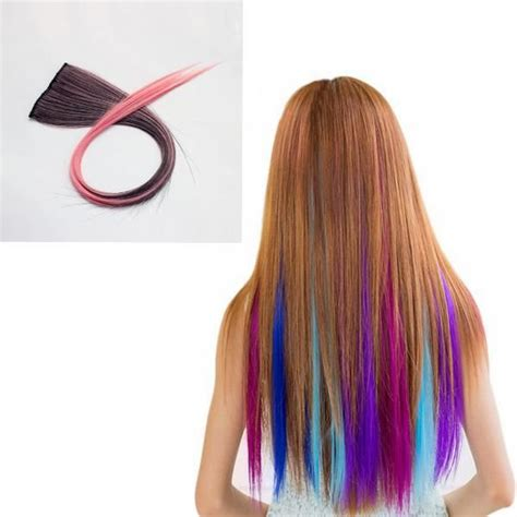 Nawomi 1pcs 2 Clip In Ombre Heat Friendly Resistant