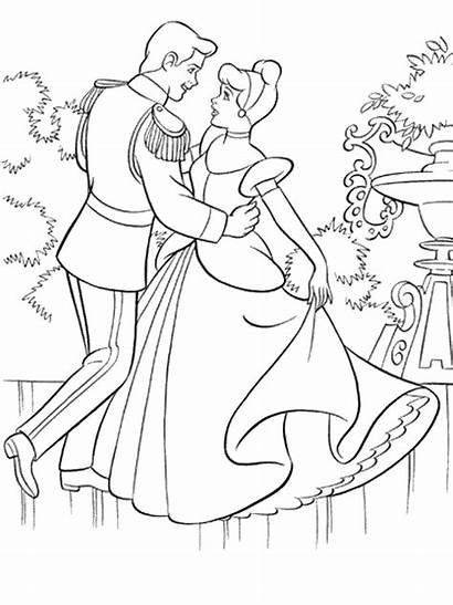 Cinderella Coloring Ultimate Birthday Pages Posters Clipart