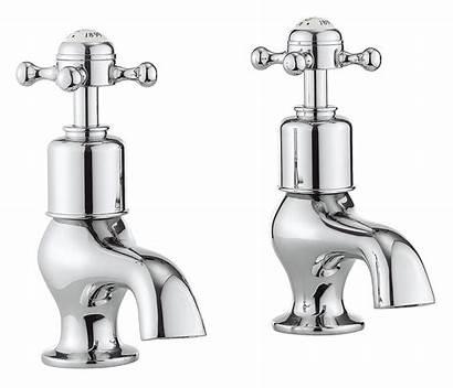 Taps Crosswater Belgravia Pair Bath Handle Pillar