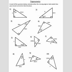 Trigonometry  Sequence Of Lessons By Dannytheref  Teaching Resources