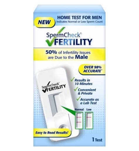 Bluetooth Bathroom Scales by Spermcheck Home Test Kit Male Fertility Test Kit