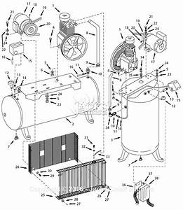 Campbell Hausfeld Ci071080vms Parts Diagram For Air
