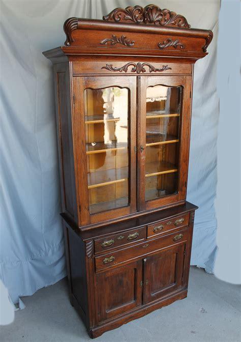 bargain johns antiques oak ledge front kitchen cupboard