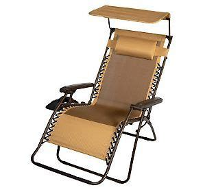 xl zero gravity chair with cup holder monterey design xl gravity free recliner with canopy cup