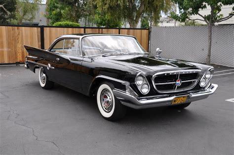 For Sale Chrysler 300 by Black 1961 Chrysler 300 For Sale Mcg Marketplace