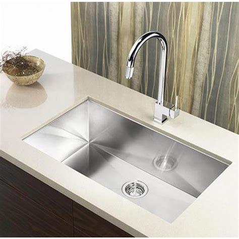 stainless steel undermount single bowl kitchen