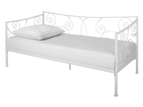 choisir un canapé convertible lit banquette 90x190 cm ellipse 2 coloris blanc vente de