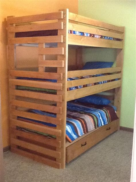 diy cabin bed plans woodworking projects plans