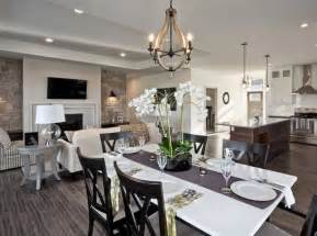 country dining room ideas open floor plans the strategy and style open concept spaces
