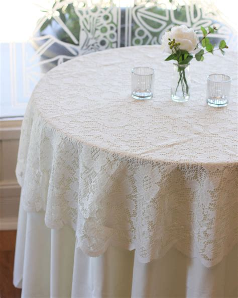 round lace table overlays ivory lace tablecloth 60 inches round lace table overlays