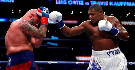 Anthony Joshua Potential Opponents Jarrell Miller