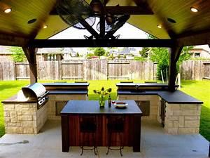 Outdoor, Concrete, Countertop, Bbq