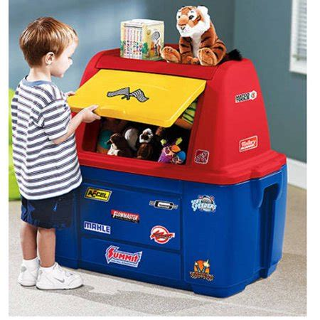 Step2 Speedway Storage Chest And Toy Box  Walmartcom