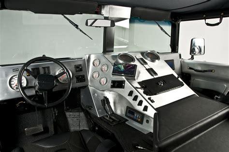 rch designs custom built hummer  interior view