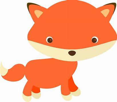 Fox Clipart Svg Adorable Log Openclipart