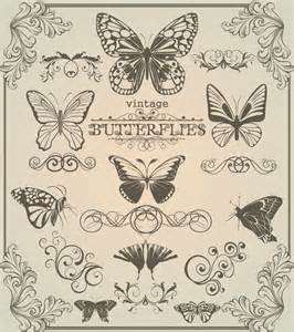 Vector Butterfly Free Pattern