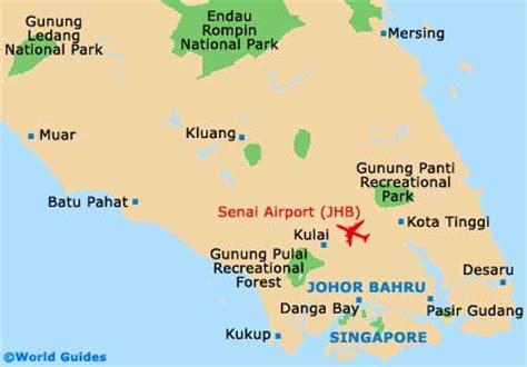 johor bahru maps  orientation johor bahru malaysia