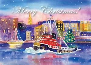 Tugboat Alley Christmas Cards