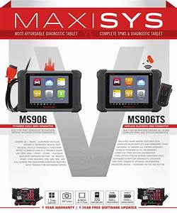 Autel Maxisys Ms906ts Scan Tablet With Tpms