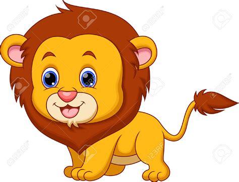 cute clipart baby lion pencil   color cute clipart