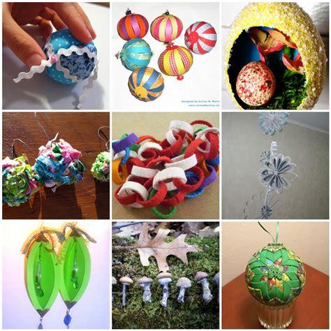 dabbled handmade christmas ornament tutorials